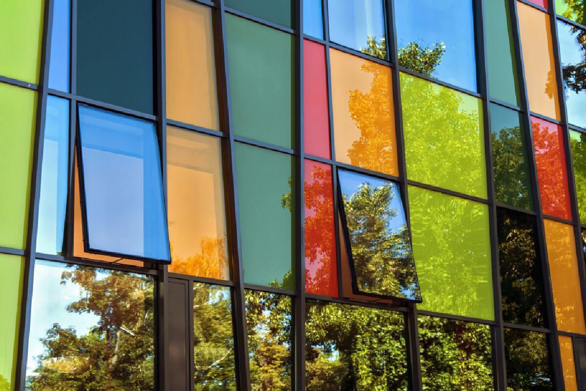 Coloured Aluminium Windows Warwickshire